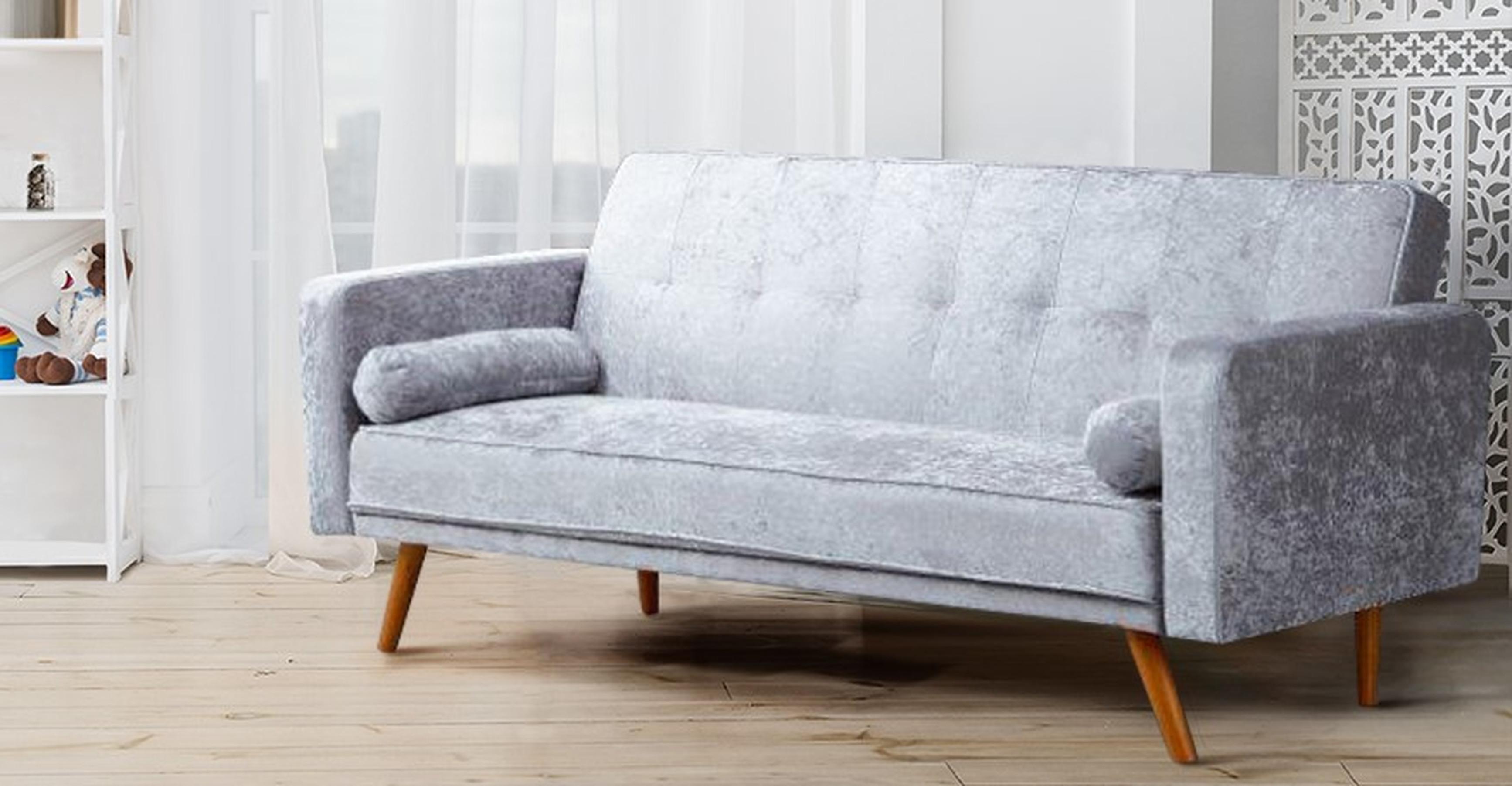 Modern Miami Crushed Velvet Sofa Bed